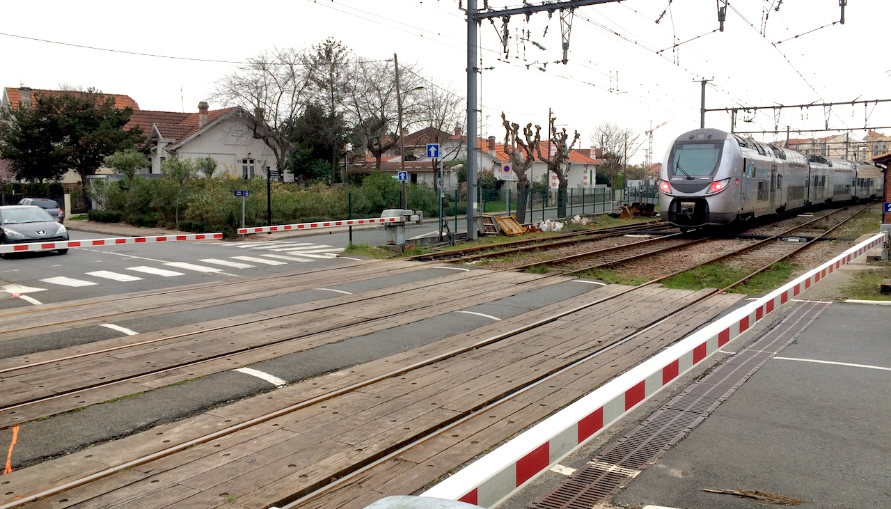 Interruption Totale Des Circulations Ferroviaires Entre Biganos Et