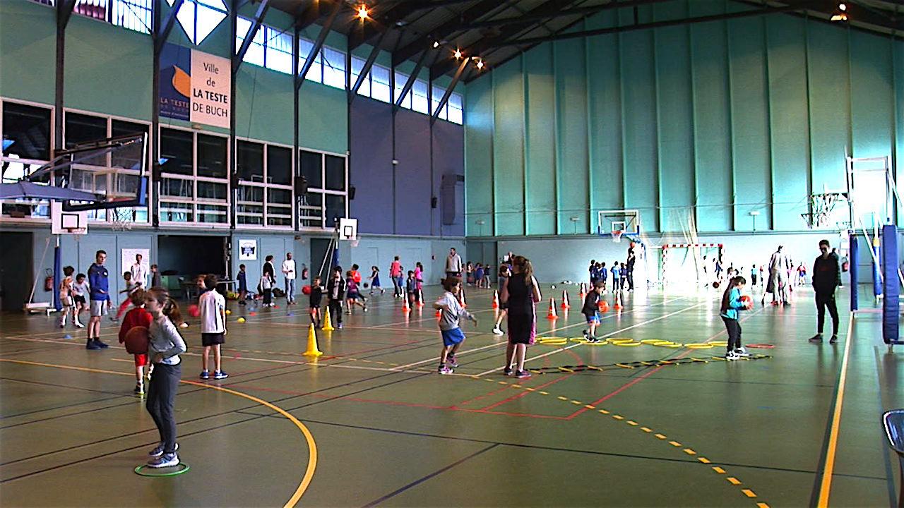 La Teste Matinee De Decouverte Du Basket Avec L Ecole Du Bba
